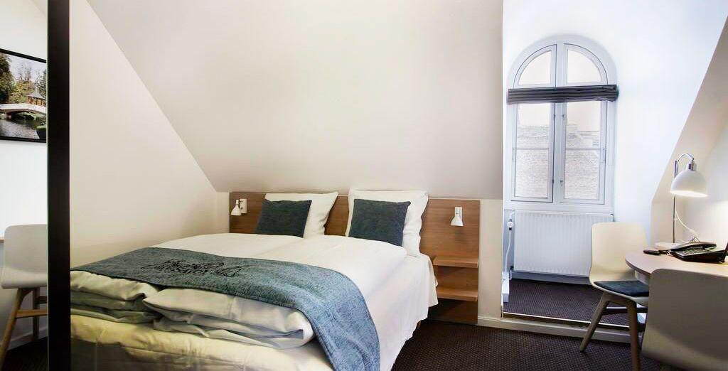 che vi ospita in camere moderne e confortevoli