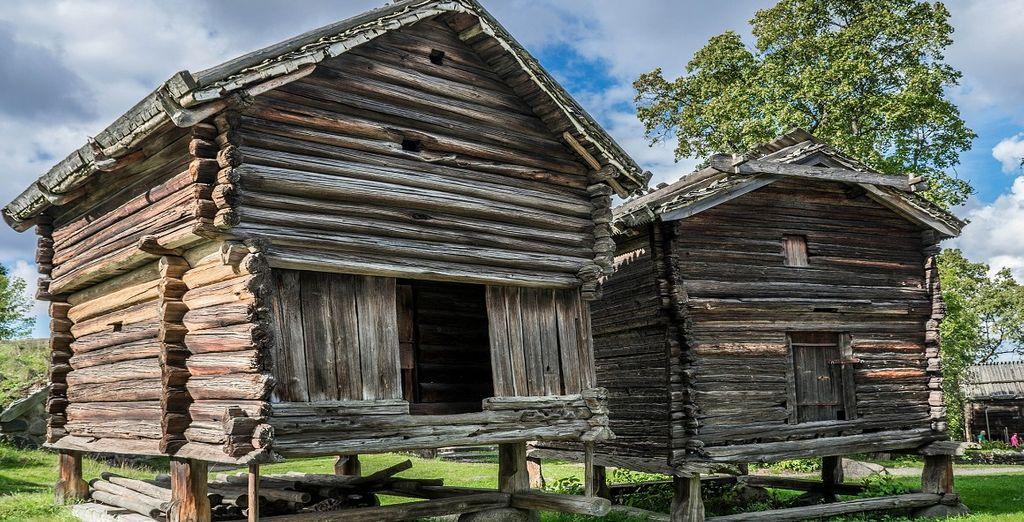 Non perdetevi assolutamente una visita al museo all'aperto di Skansen