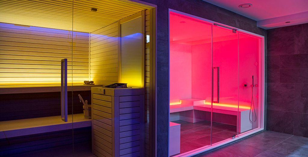 Concedetevi una sauna dopo una giornata intensa