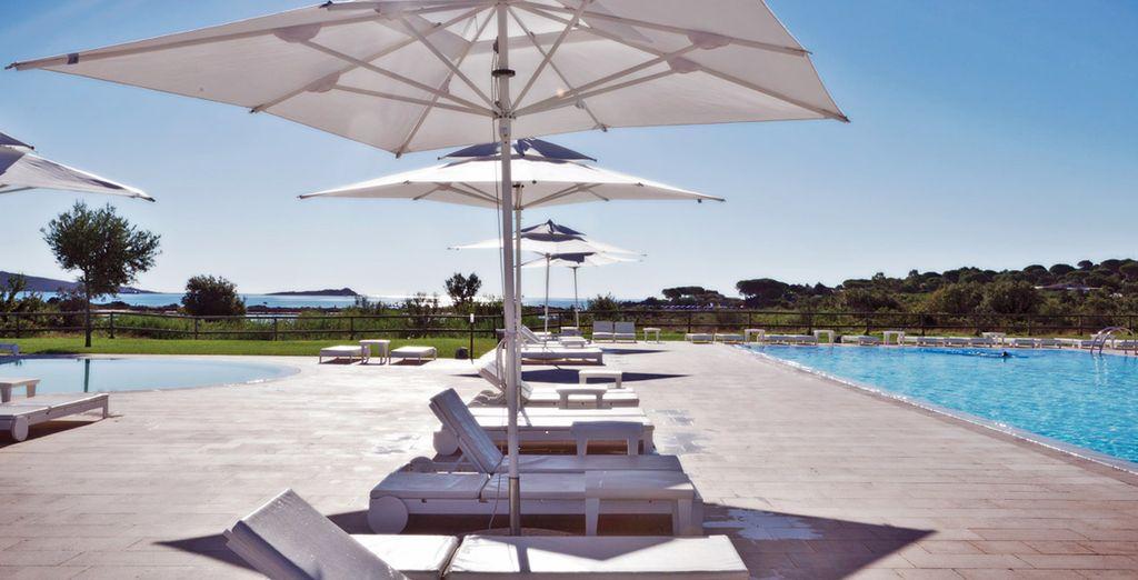 attrezzate con ombrelloni e lettini per il vostro relax