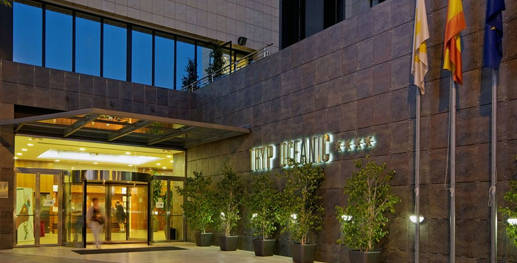 Benvenuti al l'Hotel Tryp Valencia Oceanic 4*