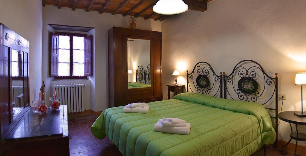 Soggiornerete in accoglienti Appartamenti Classic