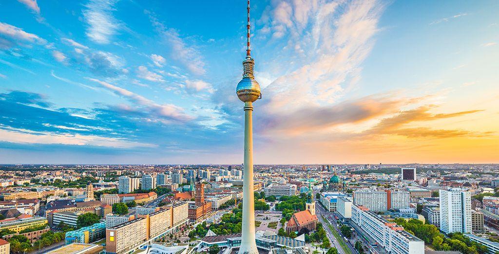 Fotografia della città di Berlino