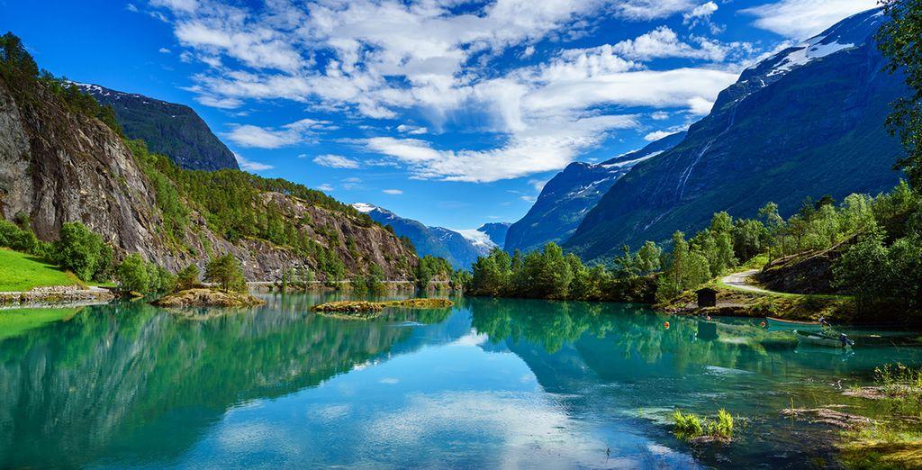 Un paesaggio suggestivo e mutevole vi stupirà per la sua bellezza e particolarità