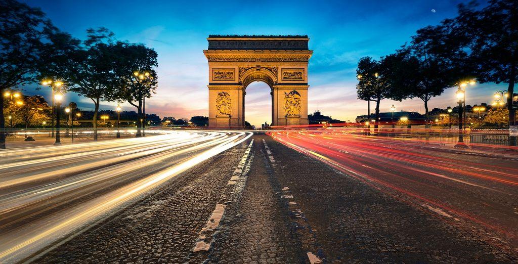 Le emozioni diventano indimenticabili a Parigi