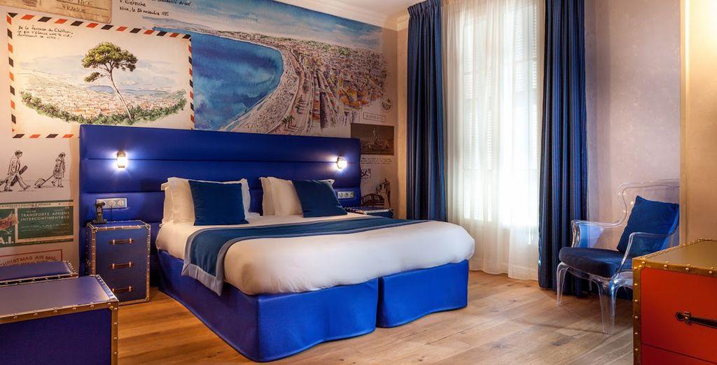 L'hotel Excelsior vi aspetta nelle vostre splendide camere Superior