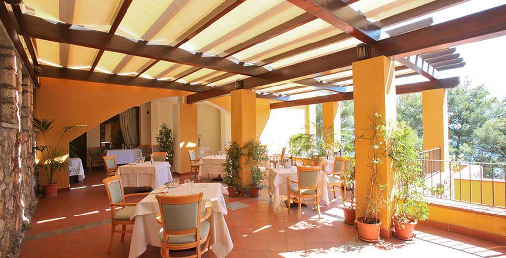 """Il ristorante """"Il Calvelletto"""" vi delizierà con prelibatezze locali e piatti tradizionali"""