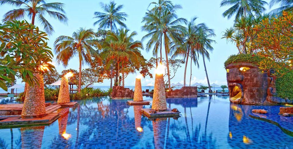 Nell'affascinante Sheraton Senggigi Resort a Lombok