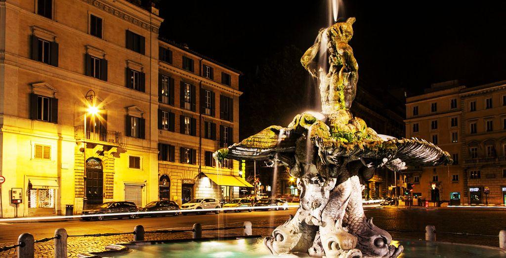 A pochi passi da Piazza Barberini