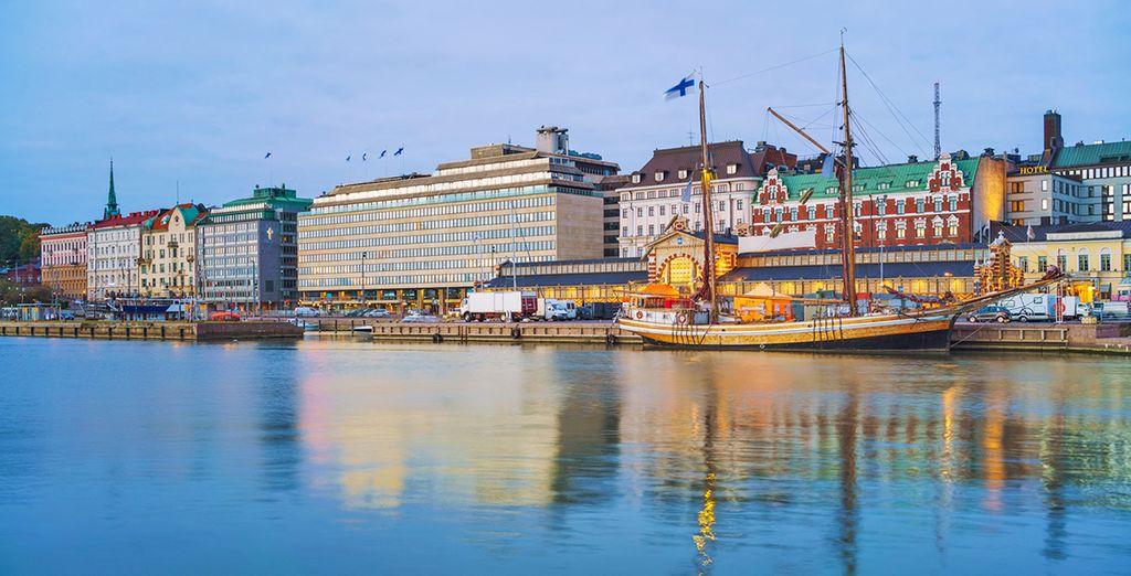 Visiterete Helsinki, maestosa città affacciata sul Mar Baltico