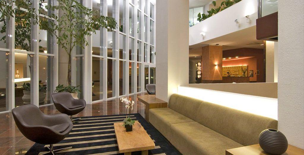 Qui l'Hotel Luizeros vi dà il benvenuto con il suo ambiente raffinato