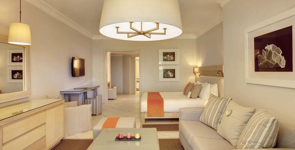 Scoprirete la vostra camera scegliendo tra Romantica Junior Suite