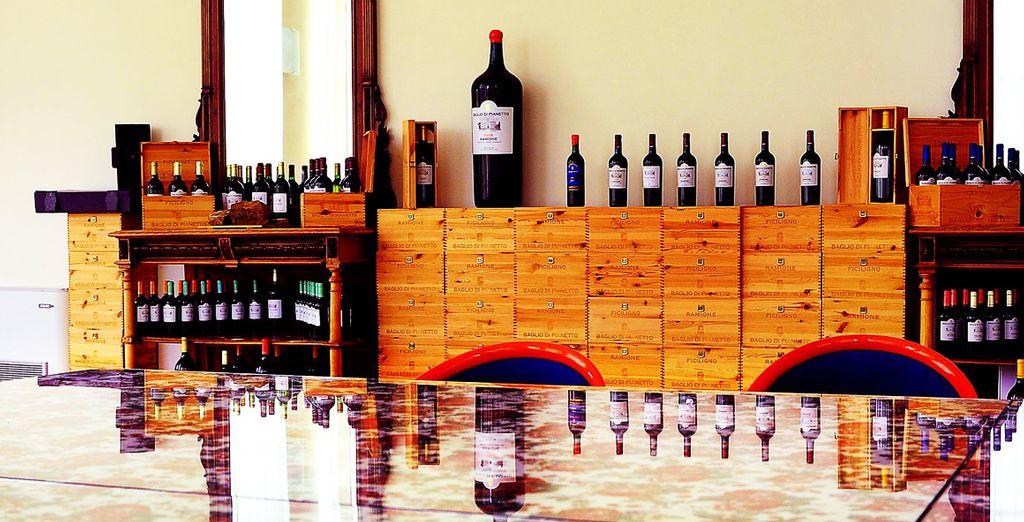 esplorare le meraviglie enologiche della Wine Library