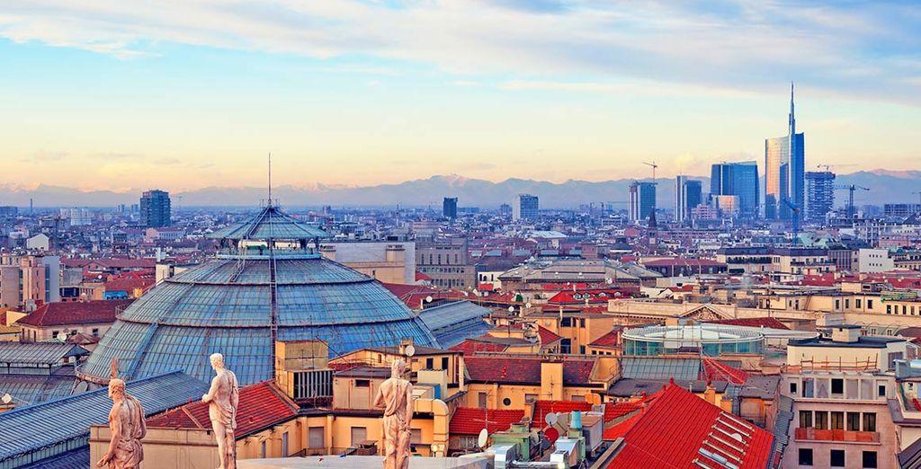 A due passi dalle principali attrazioni della città della moda italiana.
