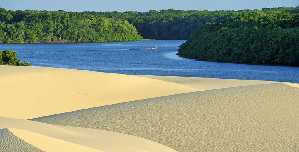 Proseguirete per Parnaiba per scoprire le splendide acque del suo delta