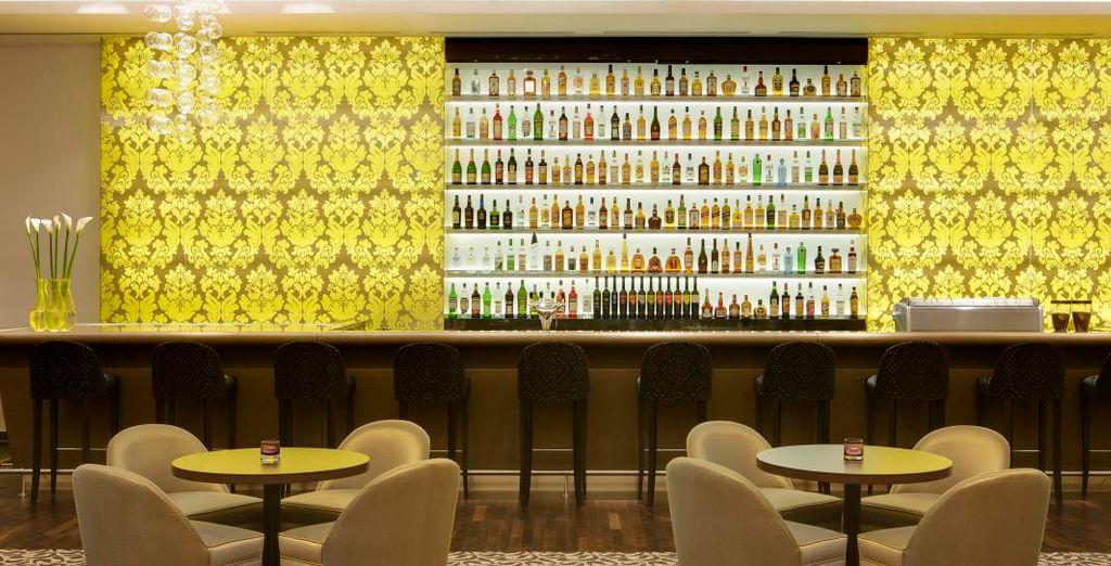 e regalarvi un drink dopo cena presso il lounge bar