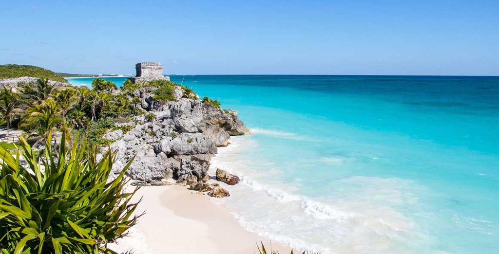 Partite per uno splendido tour dello Yucatan e un soggiorno mare a Tululm!