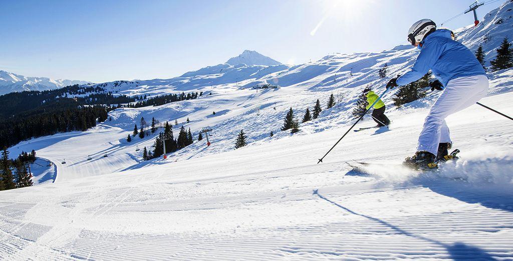Sciare nel cuore delle stazioni sciistiche di Racines