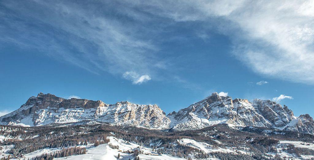 Ai piedi delle Dolomiti