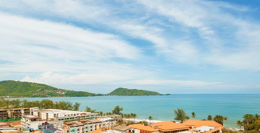 Situato su una collina e con meravigliose viste sul caldo mare Andamane