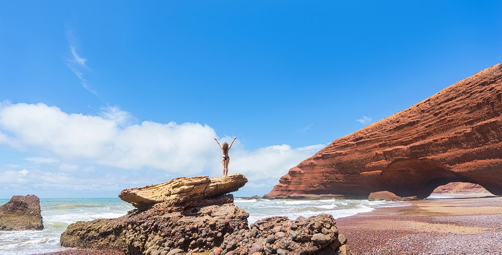 Paesaggi del Marocco e del mare