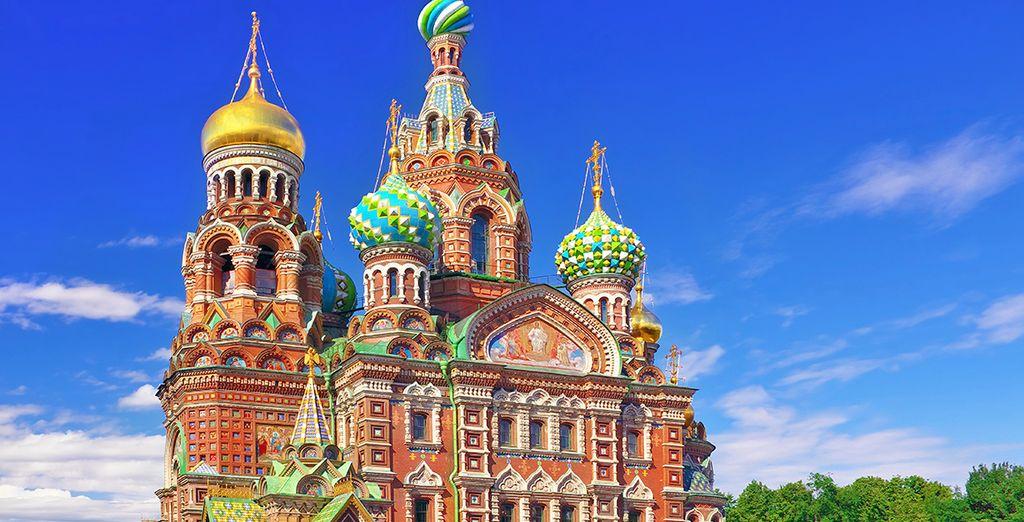 Proseguirete verso San Pietroburgo
