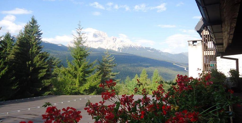 Ammirerete il maestoso Monte Pelmo