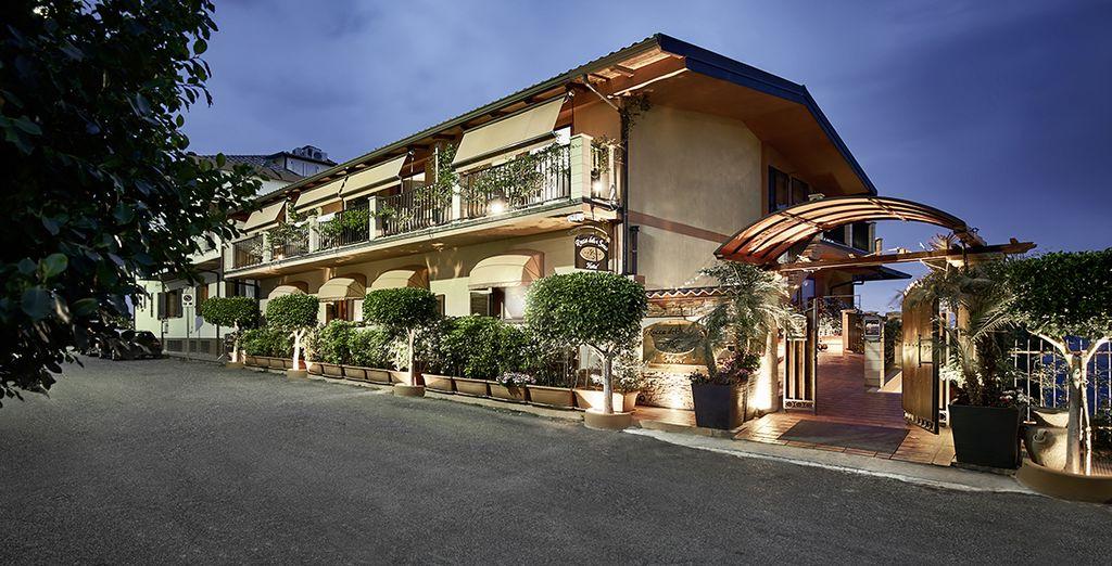 L'hotel Rocca della Sena 4* è pronto ad accogliervi