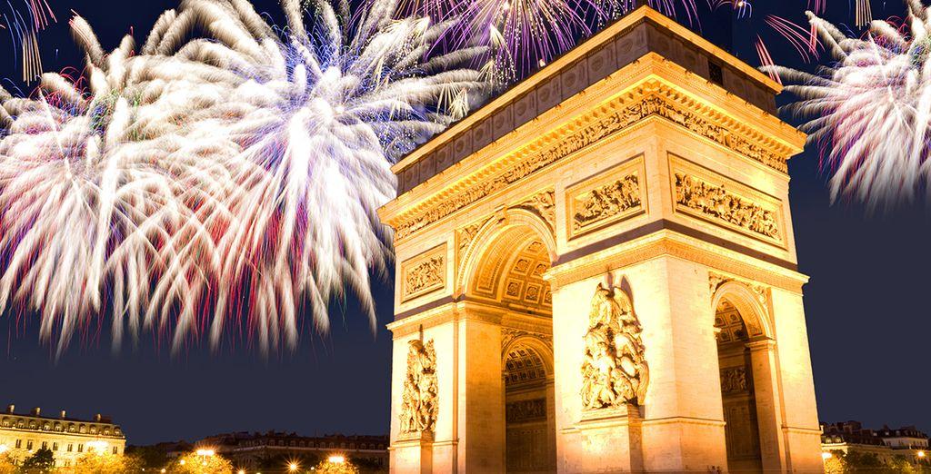 Festeggerete il Capodanno a Parigi