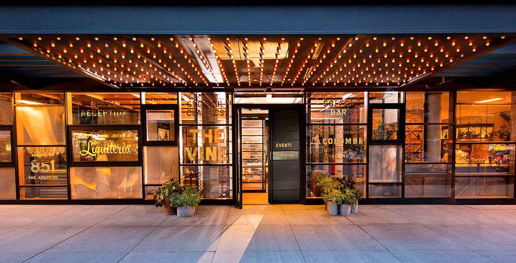 Waar u verblijft in het Hotel Kimpton Eventi 4*