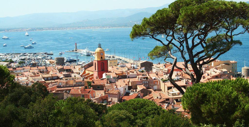 In dit charmante dorpje in Saint-Tropez