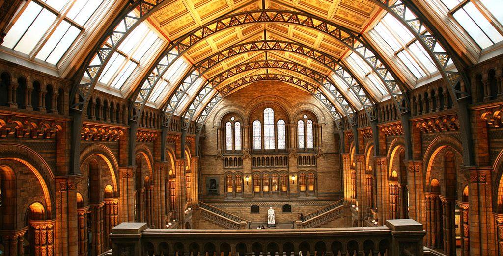... En musea van wereldklasse, net zo mooi als de voorwerpen die ze herbergen!