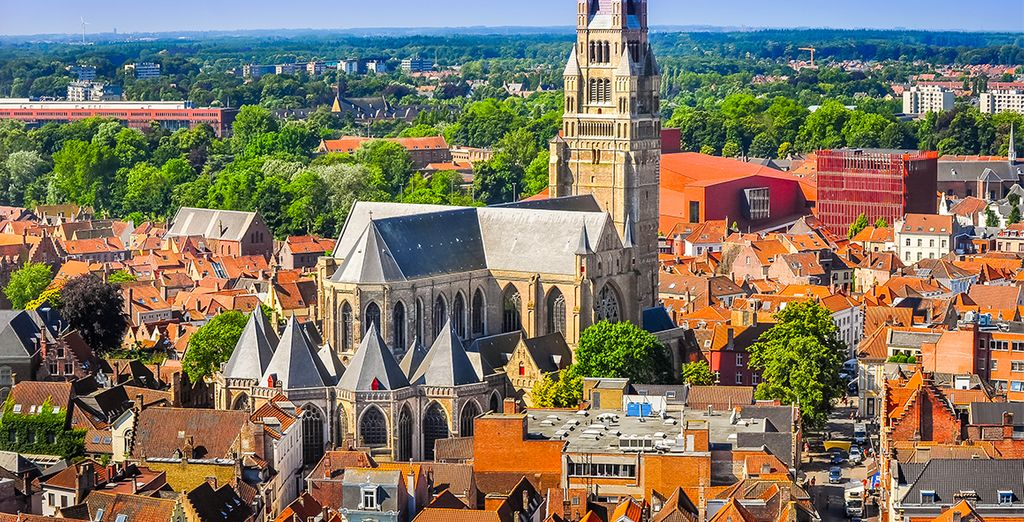 Gesitueerd in het historische centrum van Brugge