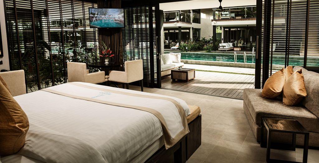U kiest misschien liever de Chic Pool Suite