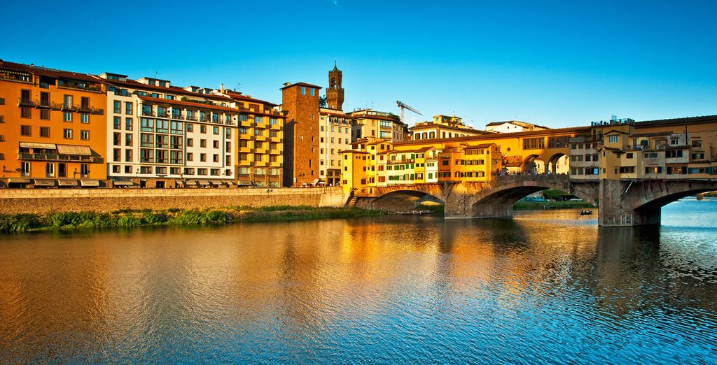 Flânez ensuite devant les bijouteries du Ponte Vecchio