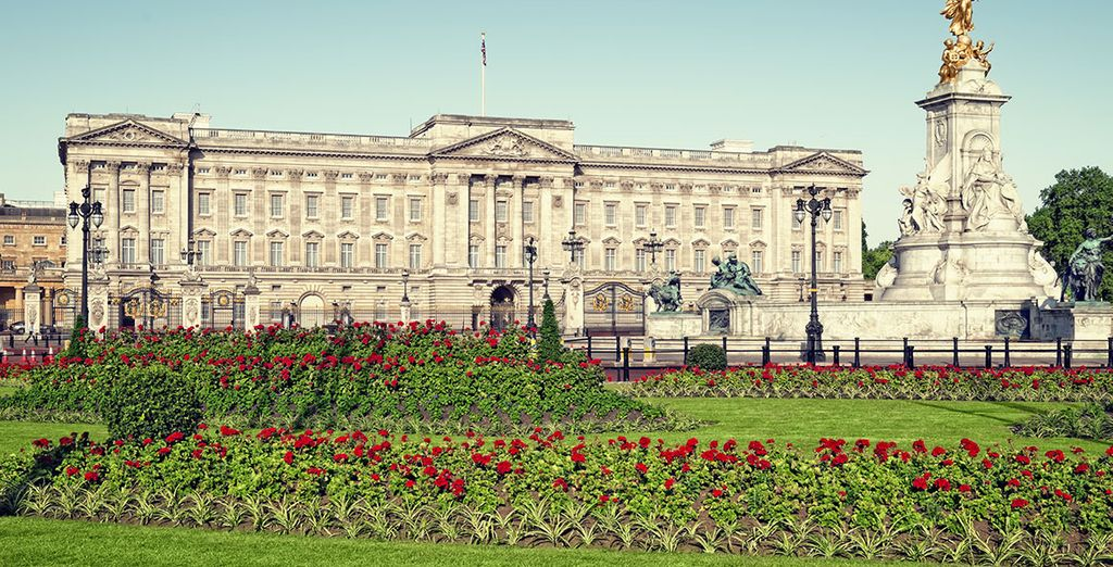 Wandel langs Buckingham Palace
