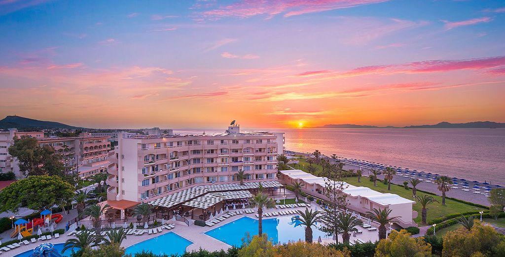 Welkom bij het Sun Beach Resort in Rhodos
