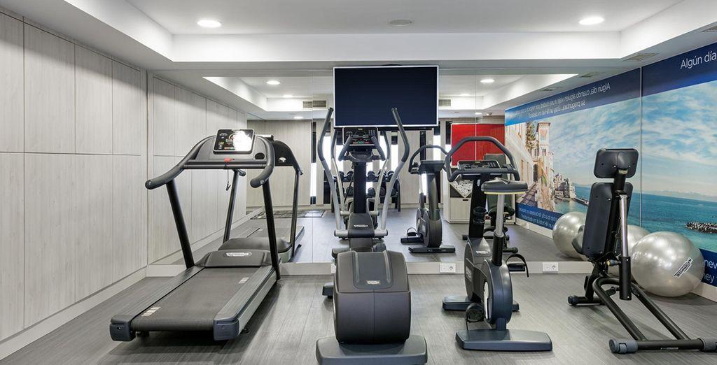 U kunt gebruik maken van het fitnesscentrum van het hotel