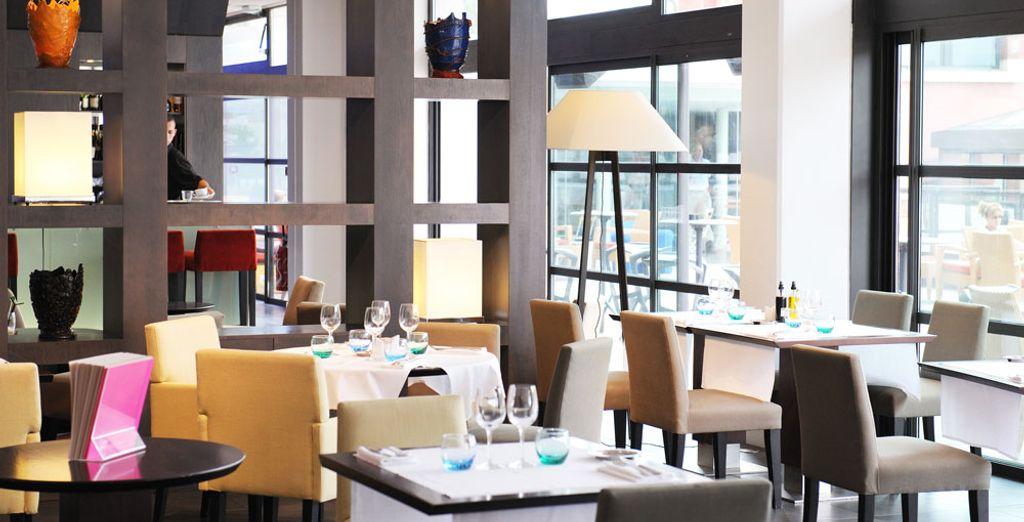 Trakteer uzelf op een diner in het Victor Café