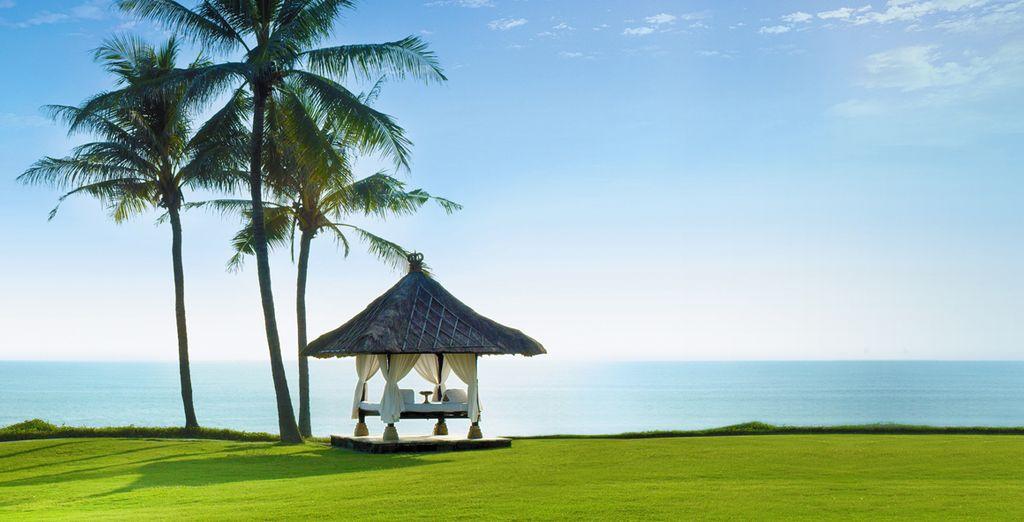In het Pan Pacific Nirwana Resort 5*