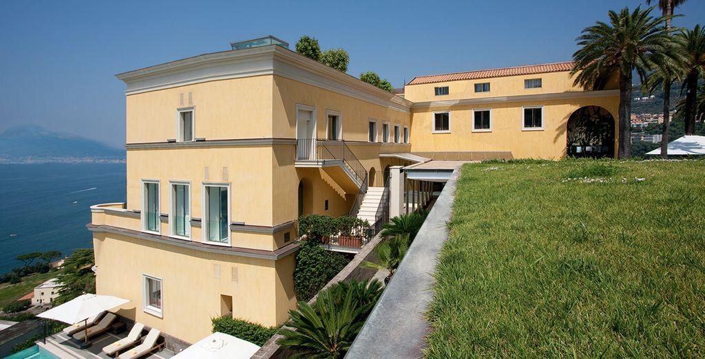 En verblijf in het 5* Grand Hotel Angiolieri