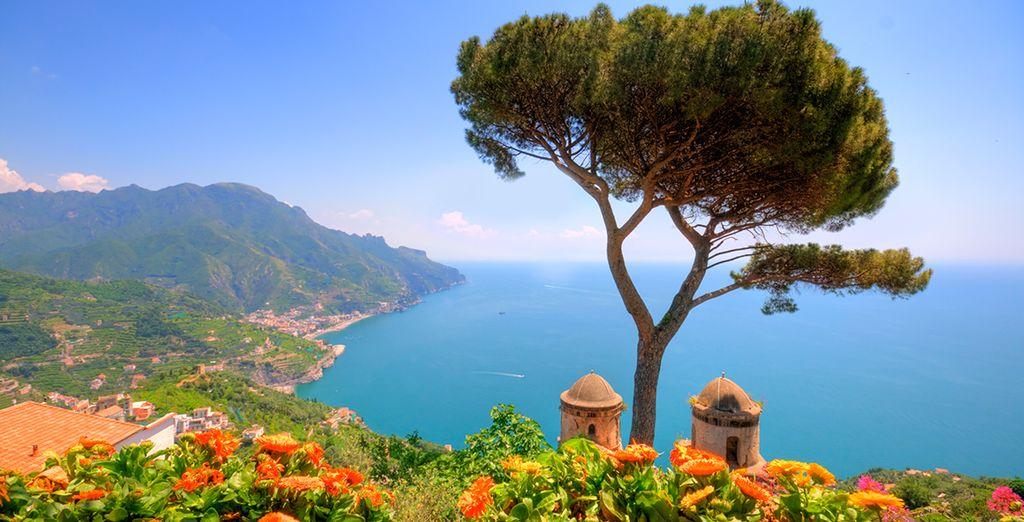 Of de kust van Amalfi