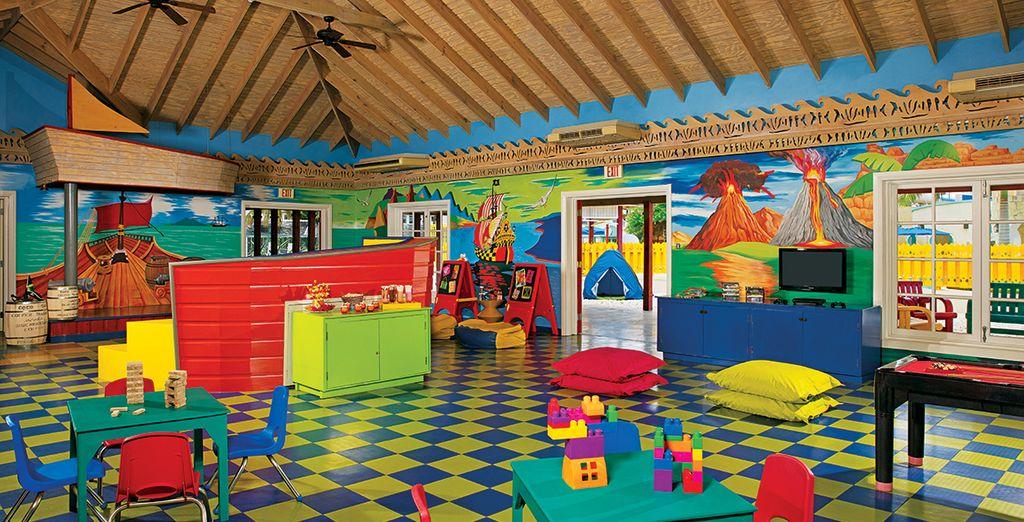 Er worden activiteiten voor kinderen georganiseerd