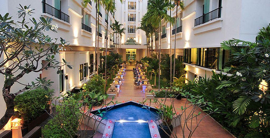 Tijdens uw verblijf kunt u kiezen voor 4* hotels