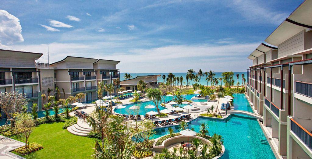 Met een verblijf in het Bangsak Merlin Resort 5*