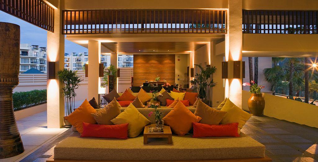 In het prachtige Dewa Phuket hotel