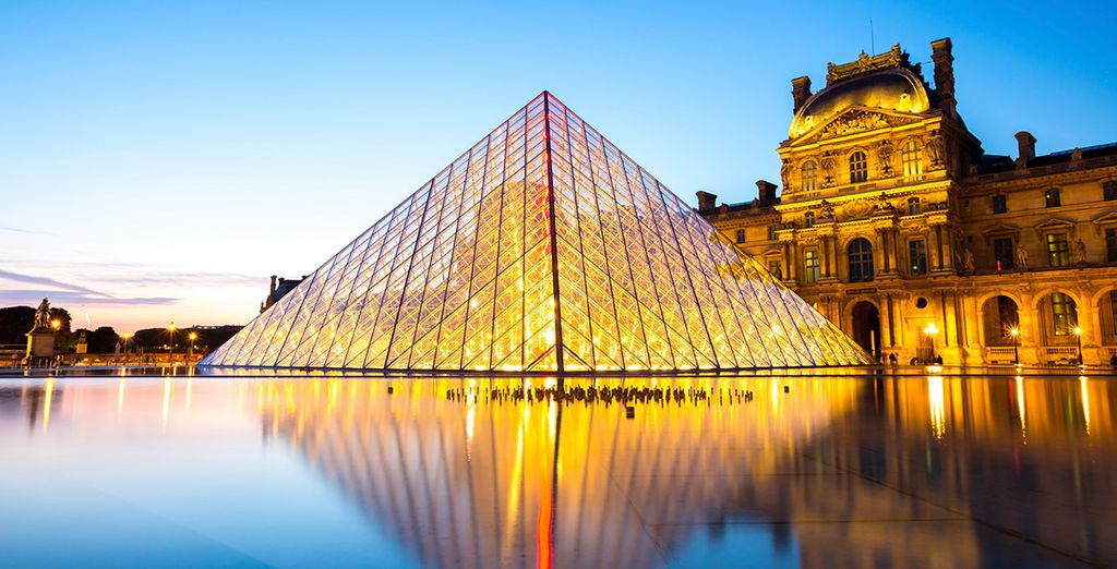 En het iconische Louvre... Fijn verblijf!