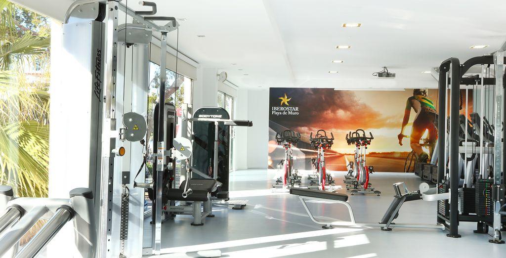 Of doe juist actief in de fitnessruimte