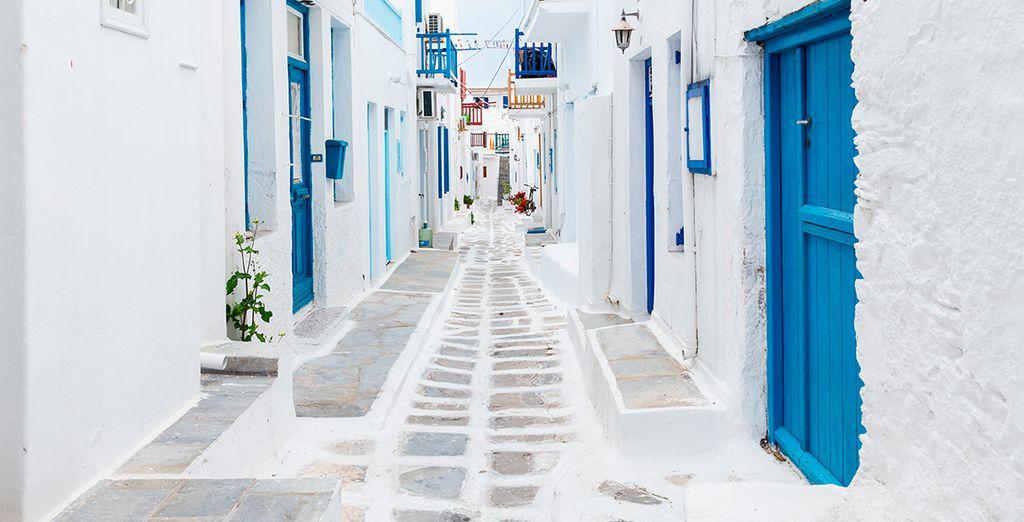 Verken de prachtige straatjes van Mykonos