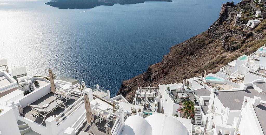 Ontdek het prachtige landschap van Santorini